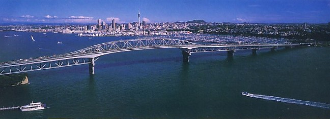 Auckland Harbour Bridge - Photo Gallery Auckland Rotorua