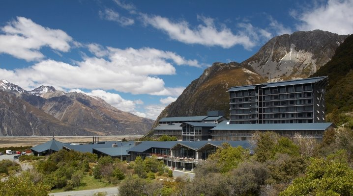 Accommodation Mt Cook Hermitage