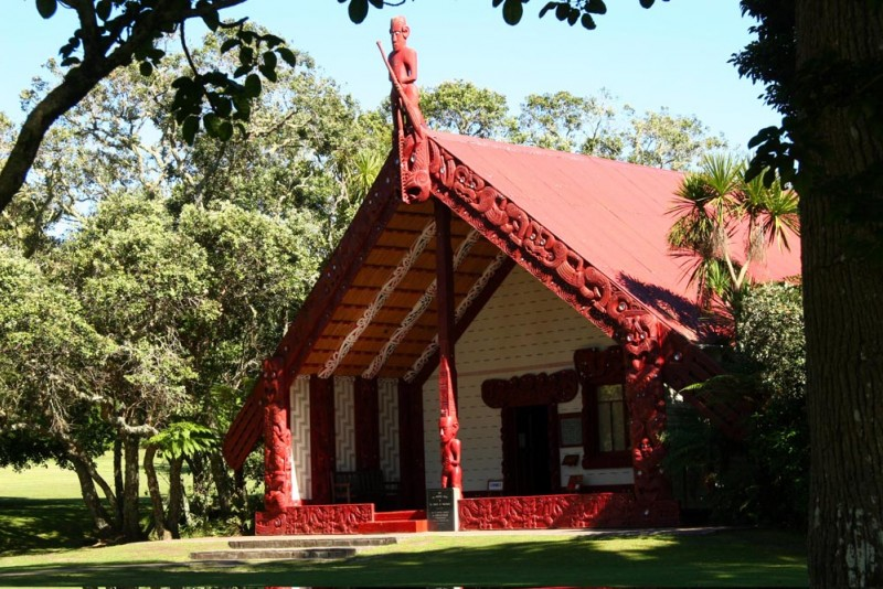 Meeting House, Waitangi Treaty Grounds - Photo Gallery Northland