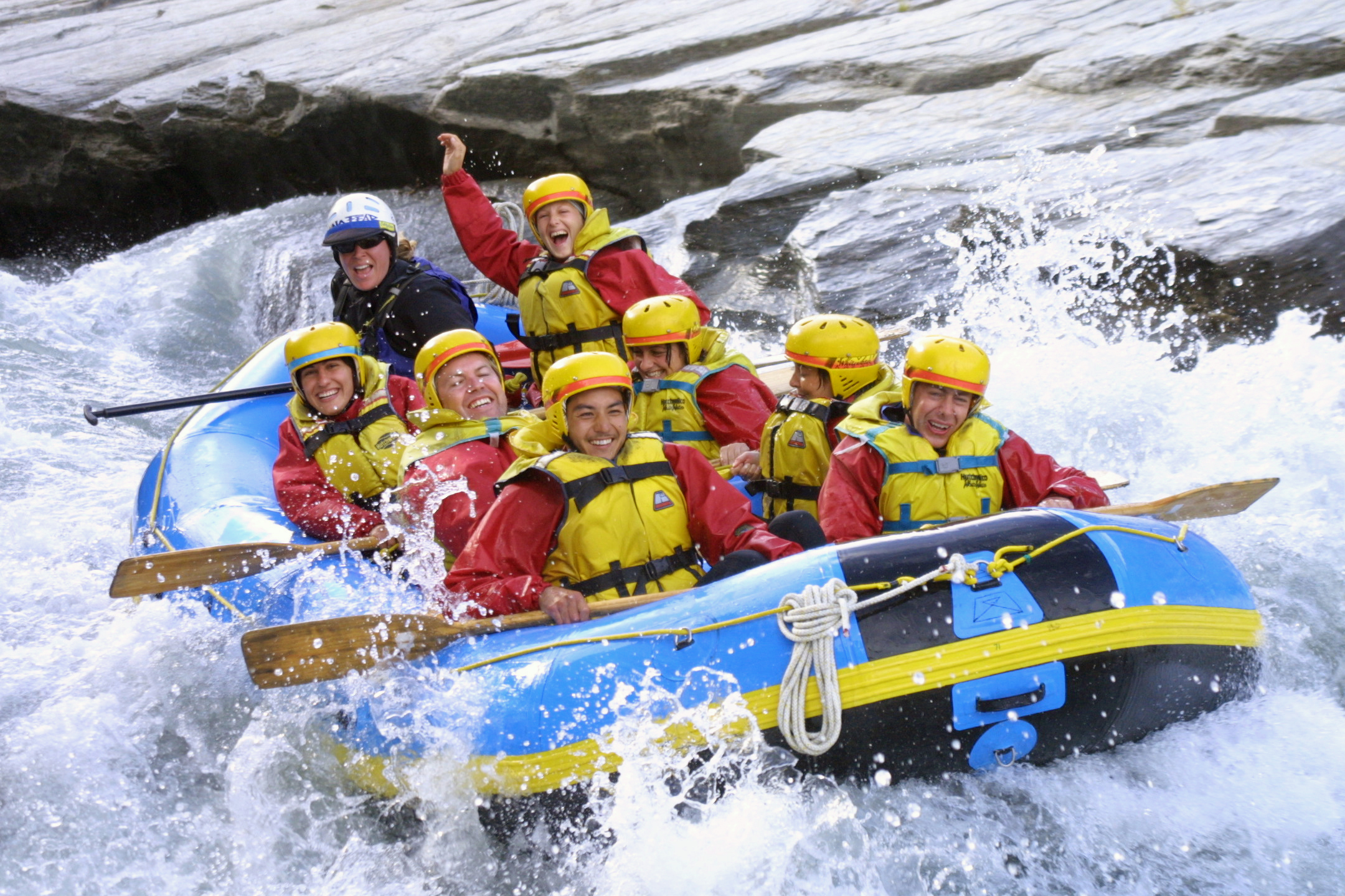Queenstown Rafting - Study Rewards South Island