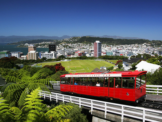 Wellington Cable Car - Photo Gallery Auckland Rotorua